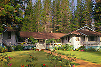 the Hotel Lanai, Lanai City, during the pineapple growing days it was the only hotel on the island