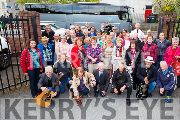Tralee senior citizens who were treated to the annual Garda Community trip in association with Tralee lIons Club and KCC Community on Wednesday to Killarney.