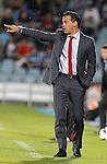 Getafe's coach Luis Garcia during La Liga match. May 06, 2013. (ALTERPHOTOS/Alvaro Hernandez)