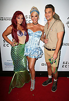 "29 October 2017 - West Hollywood, California - Tiffany Namtu, Gigi Gorgeous, Adam Westcott. Gigi Gorgeous Hosts Haunted ""Carn-Evil for Good"" Halloween Bash Benefiting Transyouth. Photo Credit: F. Sadou/AdMedia"