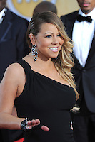 Mariah Carey at the 20th Annual Screen Actors Guild Awards at the Shrine Auditorium.<br /> January 18, 2014  Los Angeles, CA<br /> Picture: Paul Smith / Featureflash