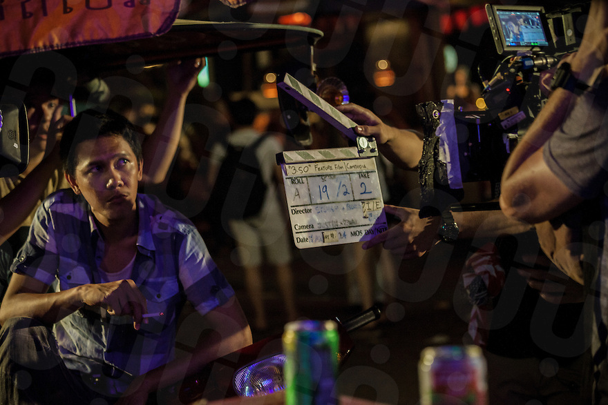 "Behind the scene of the last 2 days of shooting of ""3.50"", a Singapore-financed dramatic thriller about human trafficking in Cambodia co-direct by Chhay Bora — whose first feature film ""Lost Loves"" is Cambodia's second-ever official entry to the Oscar's for foreign language film this year."