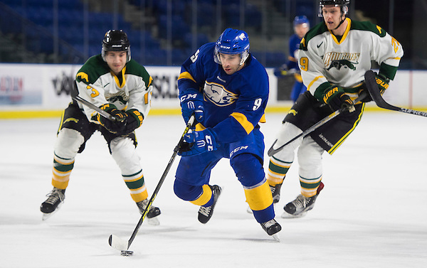 VANCOUVER,BC:JANUARY 4, 2017 -- UBC Thunderbirds University of Regina Cougars during U Sports Canada West action at UBC in Vancouver, BC, February, 4, 2017. (Rich Lam/UBC Athletics Photo) <br /> <br /> ***MANDATORY CREDIT***