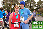 Carmelita Ryan 369, Denis Ryan 440, who took part in the Kerry's Eye Tralee International Marathon on Sunday 16th March 2014.