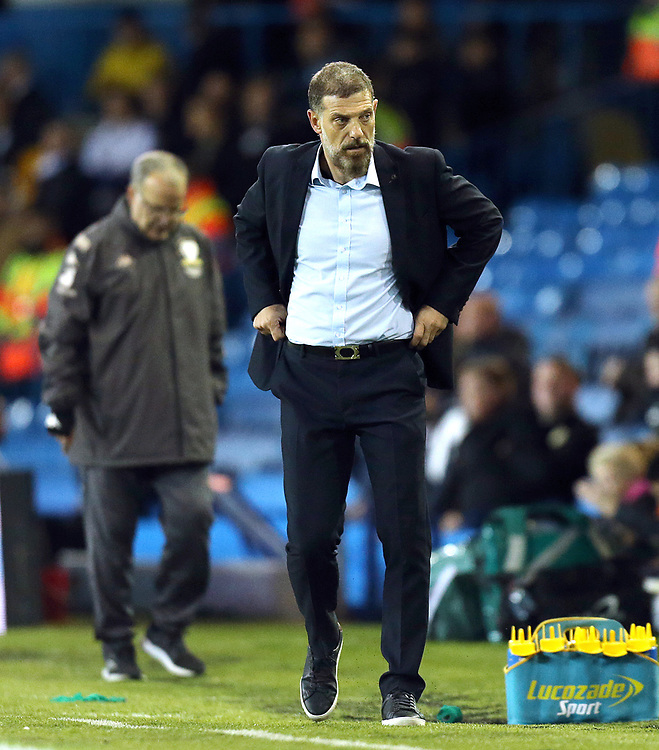 West Bromwich Albion manager Slaven Bilic <br /> <br /> Photographer Rich Linley/CameraSport<br /> <br /> The EFL Sky Bet Championship - Tuesday 1st October 2019  - Leeds United v West Bromwich Albion - Elland Road - Leeds<br /> <br /> World Copyright © 2019 CameraSport. All rights reserved. 43 Linden Ave. Countesthorpe. Leicester. England. LE8 5PG - Tel: +44 (0) 116 277 4147 - admin@camerasport.com - www.camerasport.com