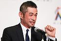 Ichiro Suzuki (Marlins), JANUARY 29, 2015 - MLB : Miami Marlins newly signed outfielder Ichiro Suzuki attends an introductory news conference in Tokyo, Japan. (Photo by Sho Tamura/AFLO SPORT)