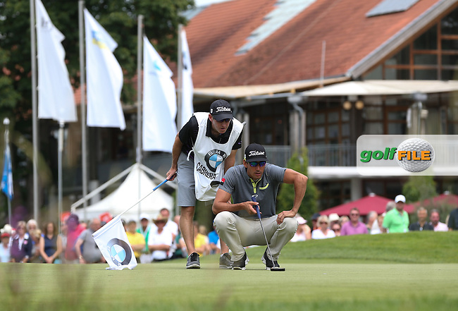 Rafa Cabrera-Bello (ESP) pushes onward out on his own after a 67 during Round Two of the 2015 BMW International Open at Golfclub Munchen Eichenried, Eichenried, Munich, Germany. 26/06/2015. Picture David Lloyd | www.golffile.ie