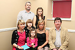 Ella Wilde with her family at her 18th in Harrys...(Photo credit should read Jenny Matthews www.newsfile.ie)....This Picture has been sent you under the conditions enclosed by:.Newsfile Ltd..The Studio,.Millmount Abbey,.Drogheda,.Co Meath..Ireland..Tel: +353(0)41-9871240.Fax: +353(0)41-9871260.GSM: +353(0)86-2500958.email: pictures@newsfile.ie.www.newsfile.ie.