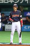 Yuichi Honda (JPN), .MARCH 6, 2013 - WBC : .2013 World Baseball Classic .1st Round Pool A .between Japan 3-6 Cuba .at Yafuoku Dome, Fukuoka, Japan. .(Photo by YUTAKA/AFLO SPORT) [1040]