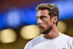 Claudio Marchisio of Juventus during the training session ahead the UEFA Champions League Final between Real Madrid and Juventus at the National Stadium of Wales, Cardiff, Wales on 2 June 2017. Photo by Giuseppe Maffia.<br /> <br /> Giuseppe Maffia/UK Sports Pics Ltd/Alterphotos