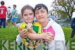 Mary Ellen McCarthy with her proud mother, Mary McCarthy at Kenmare Athletics club cross country running event last week.