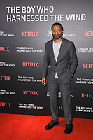 "Chiwetel Ejiofor<br /> at the screening of ""The Boy Who Harnessed the Wind"" at the Ham Yard Hotel, London<br /> <br /> ©Ash Knotek  D3481  19/02/2019"
