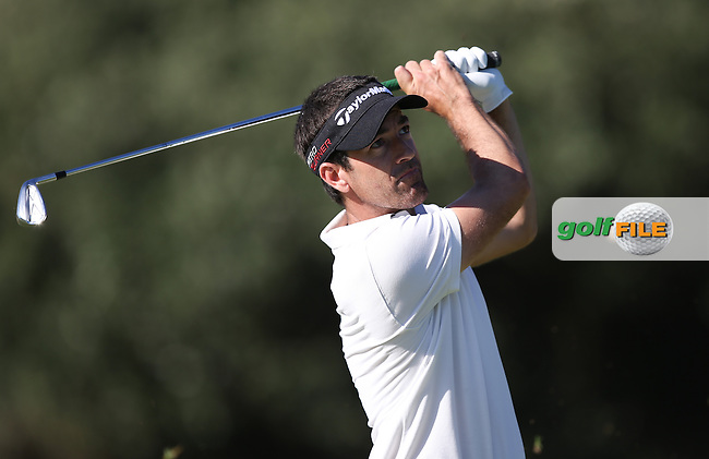 Eduardo De La Riva (ESP) plays approach shot to the 16th during Round Three of the Africa Open 2015 at the East London Golf Club, East London, Eastern Cape, South Africa. Picture:  David Lloyd / www.golffile.ie. 07/03/2015