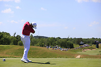 Jason Day (AUS) tees off the 4th tee during Thursday's Round 1 of the 117th U.S. Open Championship 2017 held at Erin Hills, Erin, Wisconsin, USA. 15th June 2017.<br /> Picture: Eoin Clarke | Golffile<br /> <br /> <br /> All photos usage must carry mandatory copyright credit (&copy; Golffile | Eoin Clarke)