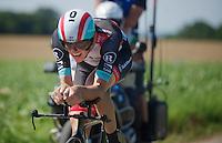 Jesse Sergent (NZL)<br /> <br /> Eneco Tour 2013<br /> stage 5: ITT<br /> Sittard-Geleen 13,2km