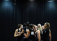 05.08.2015 Silver Ferns in action during Silver Ferns training ahead of the 2015 Netball World Champs at All Phones Arena in Sydney, Australia. Mandatory Photo Credit ©Michael Bradley.
