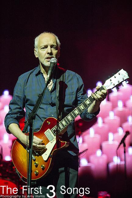 Peter Frampton performs during the Frampton's Guitar Circus at Riverbend Music Center in Cincinnati, Ohio.