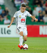 2nd February 2019, HBF Park, Perth, Australia; A League football, Perth Glory versus Wellington Phoenix; Louis Fenton of Wellington Phoenix