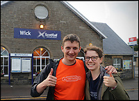 Well Chuffed - couple complete visiting all Britain's railway stations