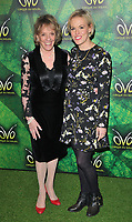 Dame Esther Rantzen and Rebecca Wilcox at the OVO by Cirque du Soleil press night, Royal Albert Hall, Kensington Gore, London, England, UK, on Wednesday 10 January 2018.<br /> CAP/CAN<br /> &copy;CAN/Capital Pictures