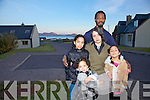 The Ware family living in Ballinskelligs who are facing a possible deportation order pictured here Shannon & Kate with their children l-r; Zoe, Abigael & Grace Ware.