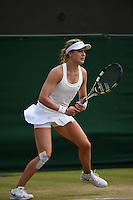 Wimbledon, 26/6/2014<br /> <br /> BOUCHARD, Eugenie (CAN)<br /> <br /> © Ray Giubilo/ Tennis Photo Network