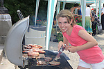 Isobel Dunne cooking up a storm<br /> at the summer fair in St Peters church of Ireland.<br /> Picture:  www.newsfile.ie