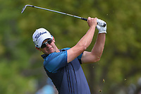 Ryan Blaum (USA) watches his approach shot on 1 during day 2 of the Valero Texas Open, at the TPC San Antonio Oaks Course, San Antonio, Texas, USA. 4/5/2019.<br /> Picture: Golffile | Ken Murray<br /> <br /> <br /> All photo usage must carry mandatory copyright credit (© Golffile | Ken Murray)