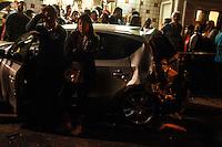 2012.07.10 - ACIDENTE DE TRANSITO - MOTORISTA DE ONIBUS PERDE O CONTROLE E BATE EM 4 VEICULOS - Por volta das 18 horas da tarde desta terça-feira(10) motorista de um onibus perdeu o controle e bateu em 4 veiculos na Av. Dr. Gentil de Moura no bairro do Ipiranga na região sul de São Paulo proximo a estação de Metrô Alto do Ipiranga.(Fotos: Amauri Nehn/Brazil Photo Press)