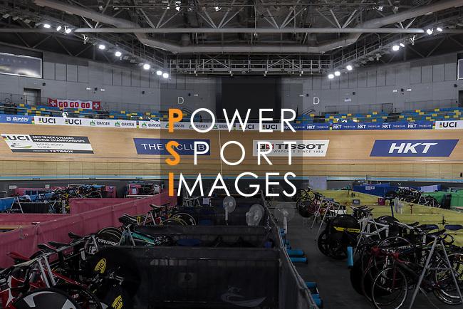 2017 UCI Track Cycling World Championships on 14 April 2017, in Hong Kong Velodrome, Hong Kong, China. Photo by Chris Wong / Power Sport Images