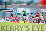 Mark Griffin Kerry in action against  Cork in the Munster Senior Football Final at Fitzgerald Stadium on Sunday.
