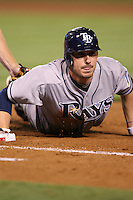 06/08/11 Anaheim, CA: Tampa Bay Rays right fielder Matt Joyce #20 during an MLB game between the Tampa Bay Rays and The Los Angeles Angels  played at Angel Stadium. The Rays defeated the Angels 4-3 in 10 innings