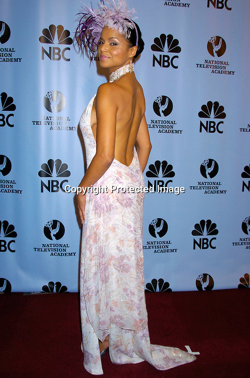 Victoria Rowell ..at the Daytime Emmy Awards on May 21, 2004 in the Press Room at Radio City Music Hall...Photo by Robin Platzer, Twin Images