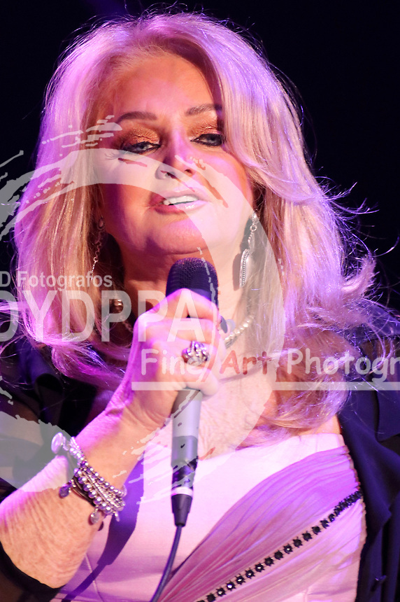 Bonnie Tyler live bei einem Konzert ihrer '40 Years it's a Heartache'-Tour im Mehr! Theater. Hamburg, 06.04.2018