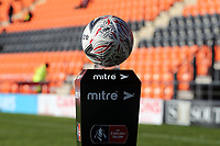 The match ball before Barnet vs Fleetwood Town, Emirates FA Cup Football at the Hive Stadium on 10th November 2019