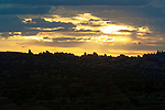 Sunset in Moab, Utah, USA