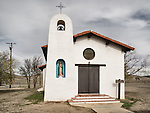 Chapel of Guadalupe, Ghost town of Bradley, Calfiornia, along US 101
