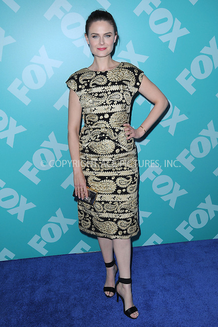 WWW.ACEPIXS.COM . . . . . .May 13, 2013...New York City....Emily Deschanel attending the FOX 2103 Programming Presentation Post-Party at Wollman Rink in Central Park on May 13, 2013 in New York City ....Please byline: KRISTIN CALLAHAN - ACEPIXS.COM.. . . . . . ..Ace Pictures, Inc: ..tel: (212) 243 8787 or (646) 769 0430..e-mail: info@acepixs.com..web: http://www.acepixs.com .