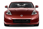 Straight front view of a 2013 Nissan 370Z Nismo Coupe