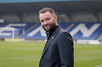 23rd November 2019; Caledonian Stadium, Inverness, Scotland; Scottish Championship Football, Inverness Caledonian Thistle versus Dundee Football Club; Dundee manager James McPake inspects the pitch before the match - Editorial Use