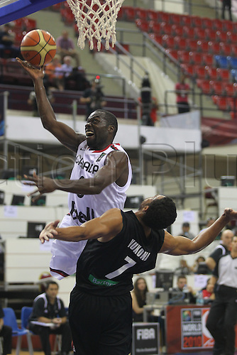 01.08.2010. Basketball World Championships, Izmir, Turkey. New Zealand v Canada. Day 5 DENHAM BROW