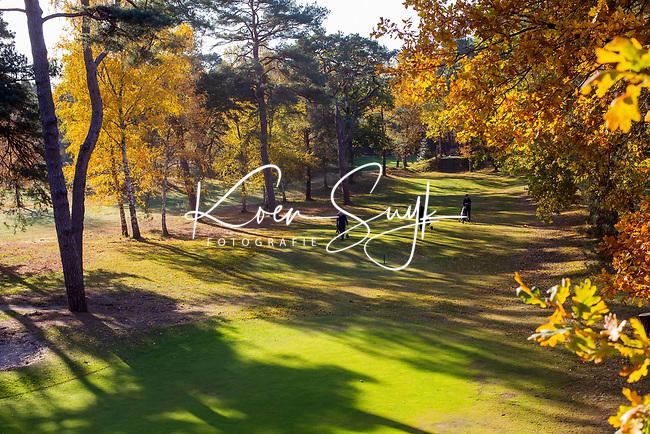 BILTHOVEN - Golf - Hole 3, Golfpark De Biltse Duinen.  COPYRIGHT KOEN SUYK
