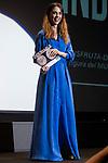 Leticia Dolera receive the Bacardi Award 'Untameable Spirit' at Sitges Film Festival in Barcelona, Spain October 11, 2017. (ALTERPHOTOS/Borja B.Hojas)