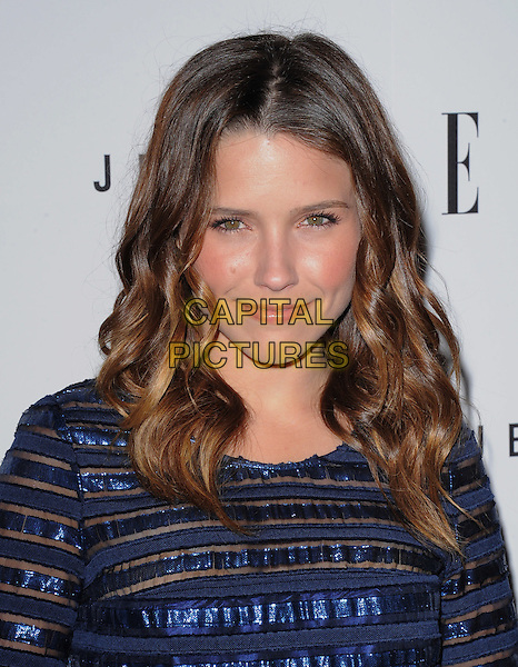 SOPHIA BUSH.The ELLE Women in Music Event held at The Music Box in Hollywood, California, USA. .April 11th, 2011.headshot portrait black top blue sequins sequined.CAP/RKE/DVS.©DVS/RockinExposures/Capital Pictures.