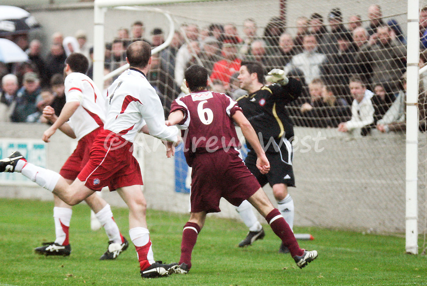Scottish Senior Cup 2nd Round.Linlithgow 4 Spartans 1.27th October 2007