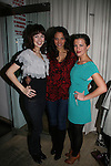 All My Children's Brittany Allen - Denise Vasi - Melissa Claire Egan at Marcia Tovsky's Holiday/Bon Voyage Party for AMC on December 1, 2009 at Nikki Midtown, New York City, New York. (Photo by Sue Coflin/Max Photos)