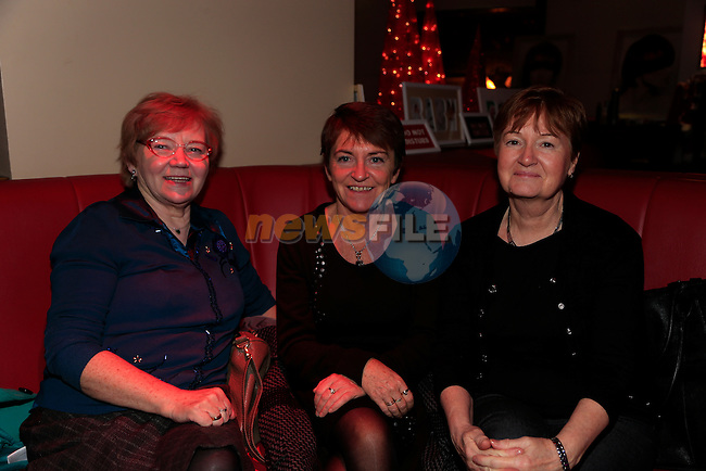 charity event for the special care baby unit in our lady of Lourdes hospital in Bru were Bridie Clarke, Mary Byrne Marina McDermott<br /> Picture: Fran Caffrey www.newsfile.ie