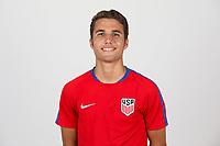 Bradenton, FL - Monday April 17, 2017: U.S. Soccer U-17 head shots at IMG Academy.