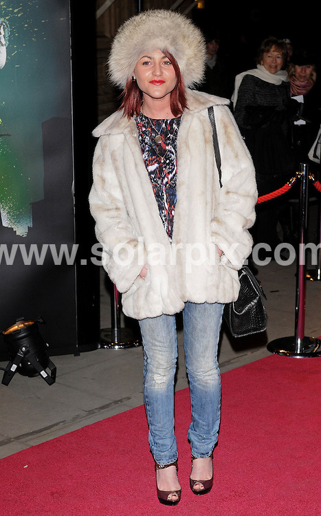 **ALL ROUND PICTURES FROM SOLARPIX.COM**.**WORLDWIDE SYNDICATION RIGHTS**.premiere of the new Cirque Du Soleil 'Quidam' show, held at the Royal Albert Hall, London, UK. 7th January 2009..This pic: Jaime Winstone..JOB REF: 8203 SSD     DATE: 07_01_2009.**MUST CREDIT SOLARPIX.COM OR DOUBLE FEE WILL BE CHARGED* *UNDER NO CIRCUMSTANCES IS THIS IMAGE TO BE REPRODUCED FOR ANY ONLINE EDITION WITHOUT PRIOR PERMISSION*