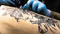 SÃO PAULO, SP, 19.10.2018 - TATTOO WEEK-SP - Movimentação do público na Tattoo Week, evento dedicado a tatuagem e body piercing, que acontece entre os dias 19 e 21 de Outubro no São Paulo Expo Imigrantes, 19. (Foto: Paulo Guereta/Brazil Photo Press)